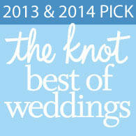 The Westwood Wins the 2014 Knot Best of Weddings Award for 2 Years in a Row
