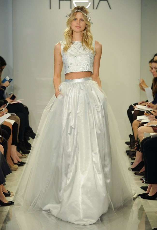 Alternate Wedding Dress - Crop Top 2
