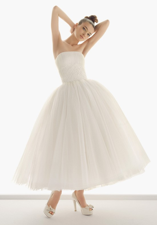 Alternative Wedding Dress - Ankle Length 2