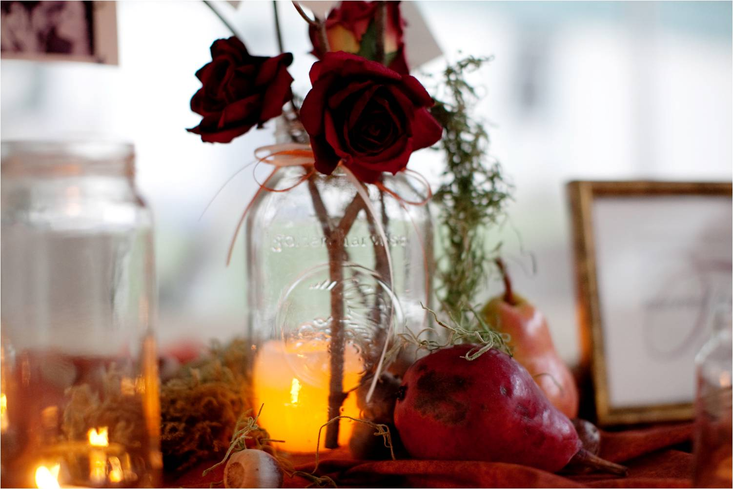 Simple Fall Wedding Centerpieces: Blog
