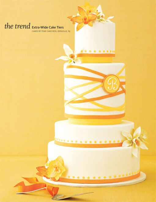 Summer Wedding Cake Designs