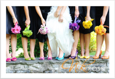 Wedding Shoes With Color